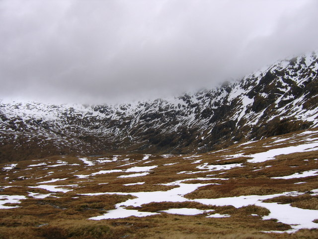 Spring Snow in Glen Oykel