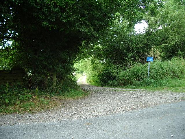 Bridleway to Bent Lane