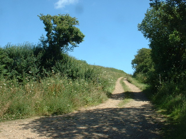 Lane near the sewage works