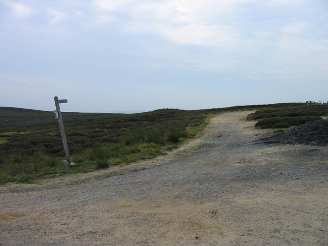 Footpath leading from Dead Friar's Stone
