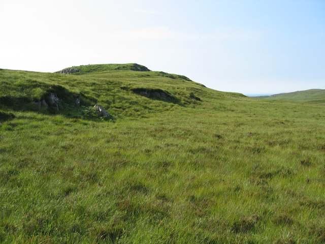 Moorland above Treaslane