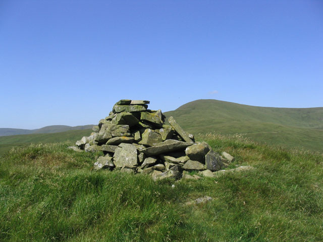 The summit of Dob's Craig with Ettrick Pen behind