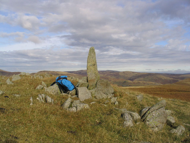 The summit area of Craigdilly