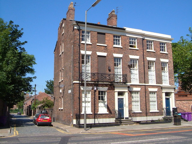 Houses on Catharine Street, Liverpool