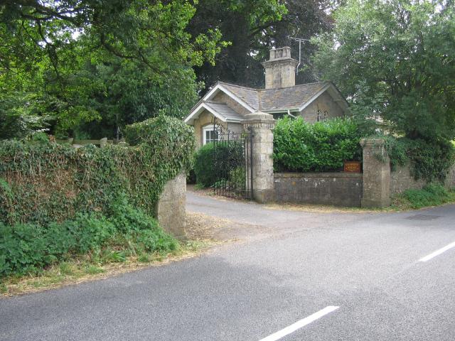 The lodge at Wadbury House