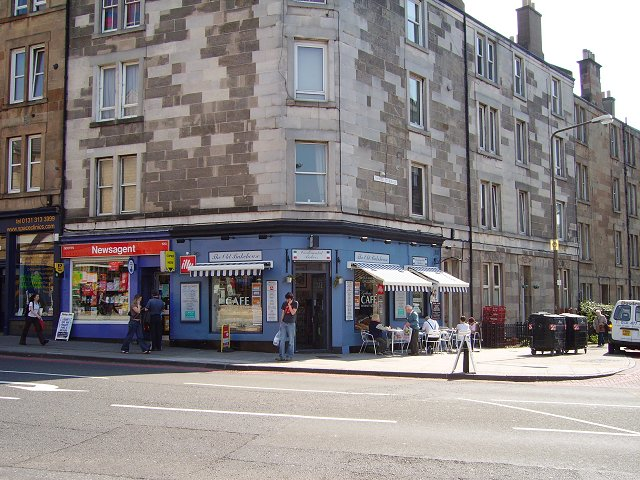 Cafe, Dalry Road