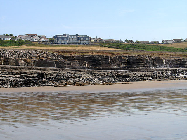 Rock Strata on Ogmore Beach