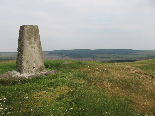 Peat Hill trig point S5332