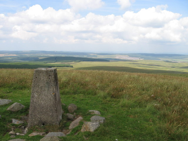 Enoch Hill trig point S5977