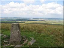 NS5606 : Enoch Hill trig point S5977 by Chris Wimbush