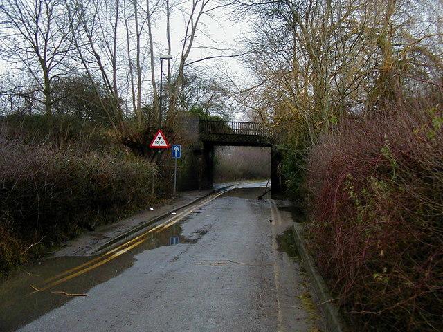 Disused Railway Bridge at Newtown, Tewkesbury