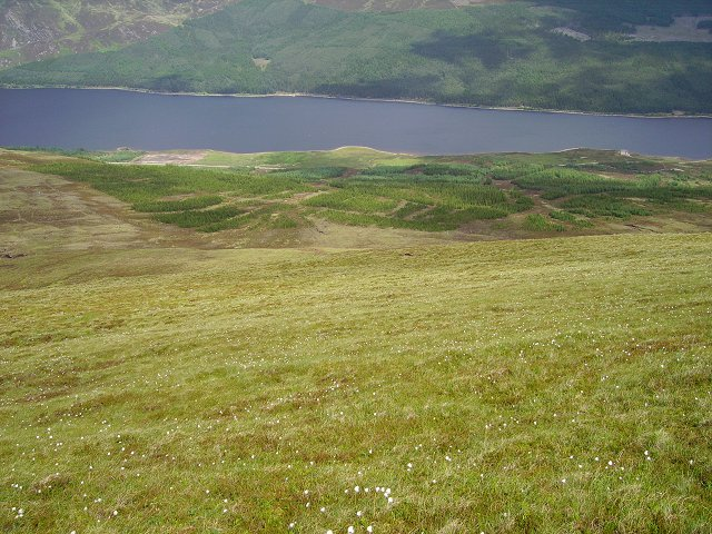 Northwest slopes of Meall na Drochaide
