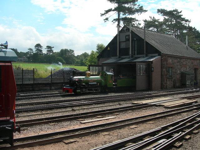 Ravenglass engine shed