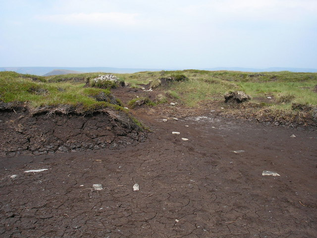 Peat erosion