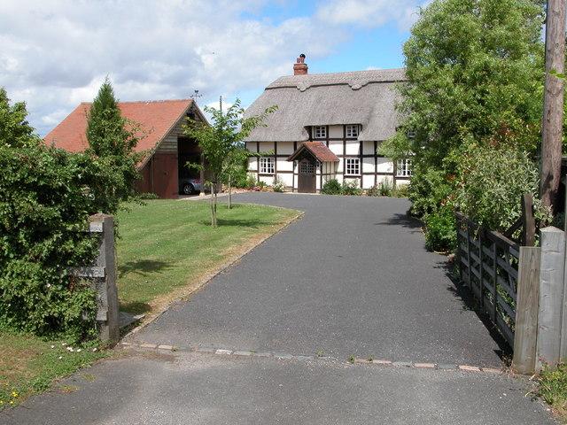 Thatched Cottage at Woodmancote