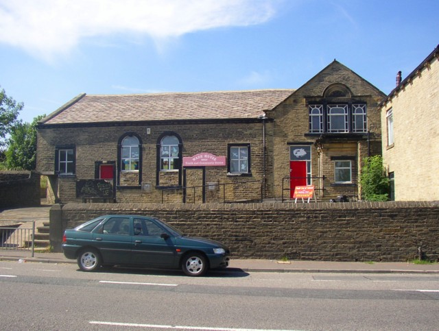 Youth and Community Centre, Wade House Road (A6036), Shelf