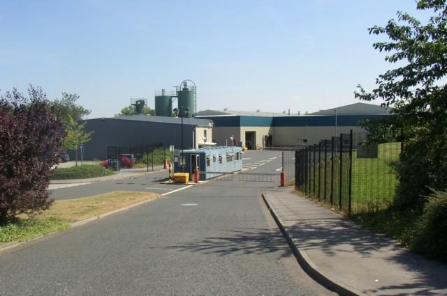 Factory, Wade House Road (A6036), Shelf