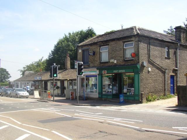 Shelf Post Office, Witchfield Hill (A6036), Shelf