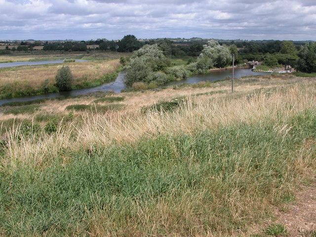 River Avon at Nafford Lock