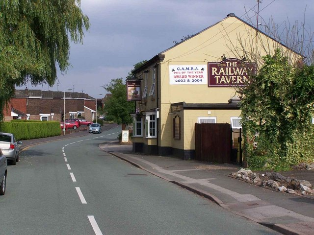 The Railway Tavern, Norton Green Lane, Norton Canes