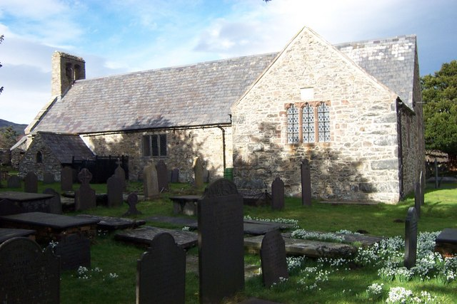 St Mary's Church at Caerhun