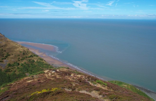 Minehead Bluff and Selworthy Sand