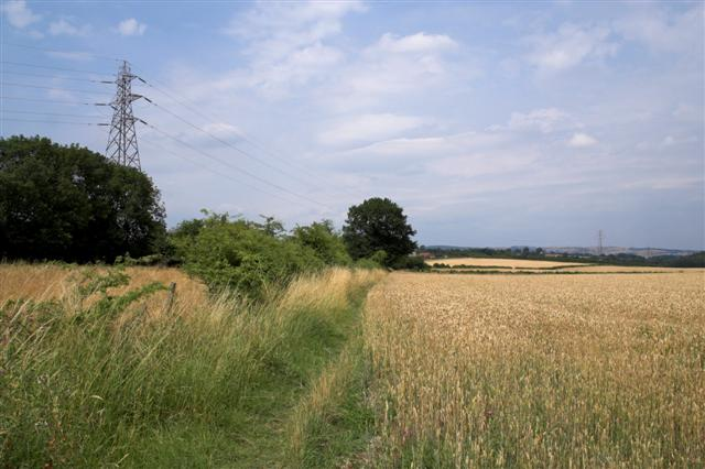 Fields North of A632