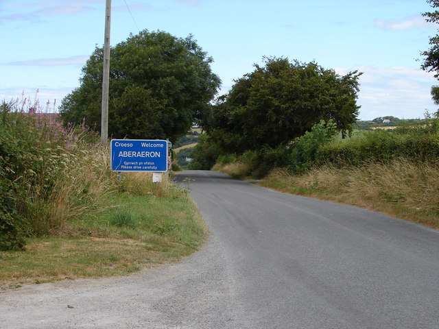 Lane into Aberaeron