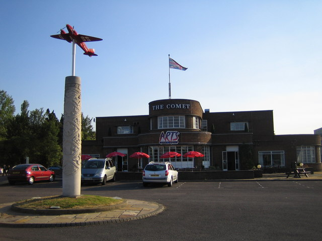 Hatfield: The Comet hotel