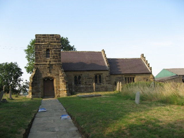 The Parish Church of Marton-in-the-Forest