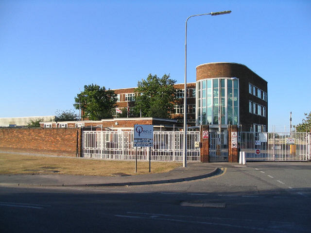 Quest International, Bromborough Pool