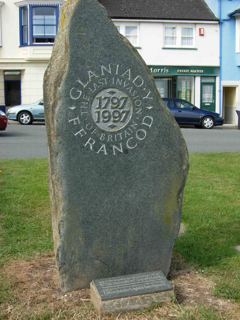 Commemoration of the last Invasion of Britain, Fishguard
