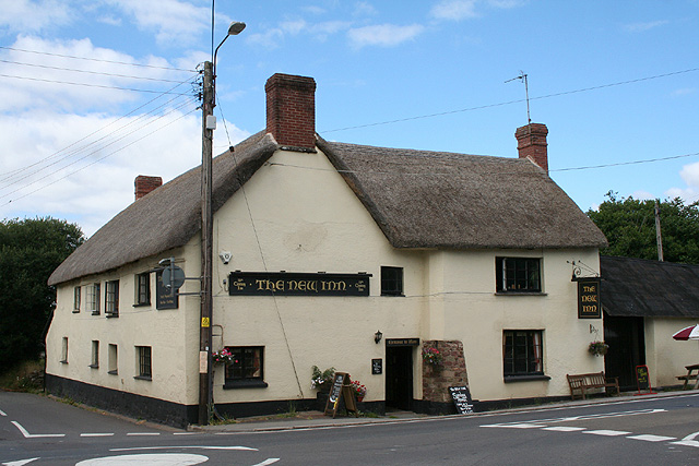 Sampford Courtenay: The New Inn