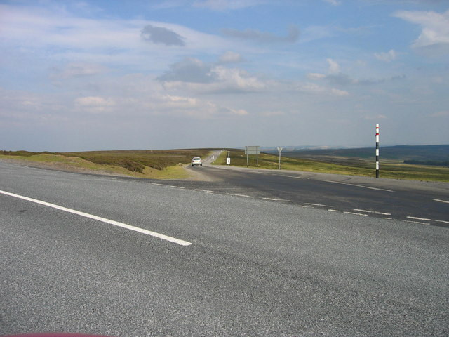Moorland road above Stanhope