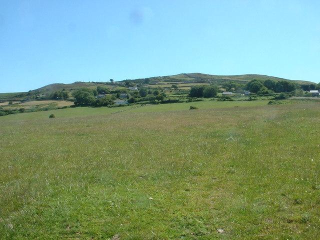 Farmland near Coch y Moel