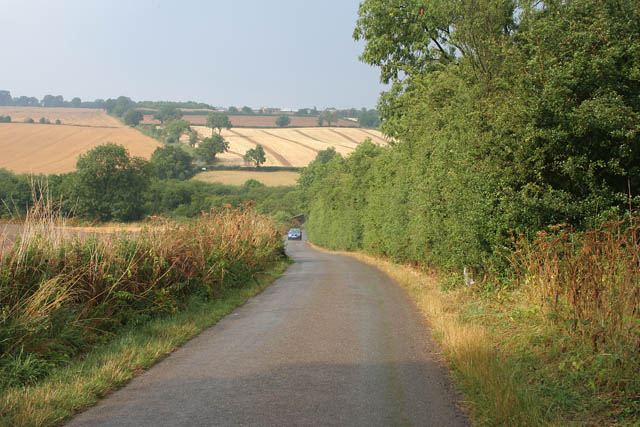 Wing Road near Glaston