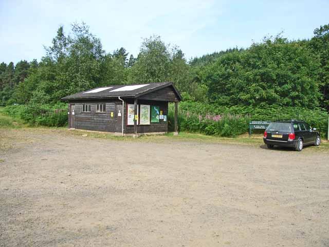 Lewisburn Picnic Site and Carpark, Kielder Forest