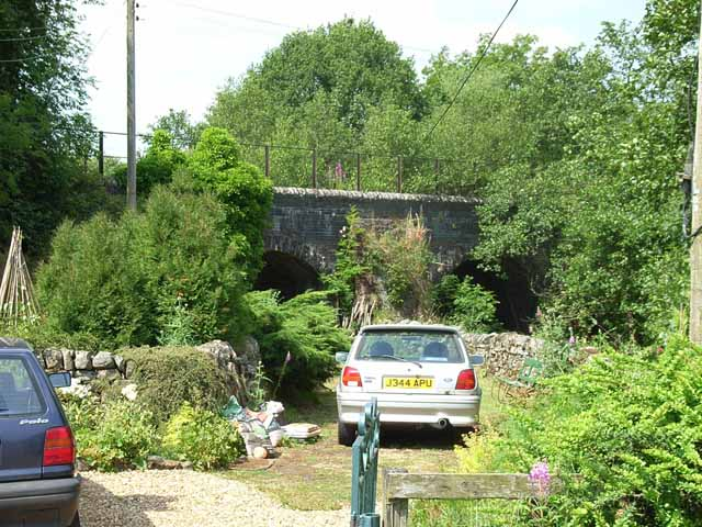 Old railway arches at Raltonburn Cottage