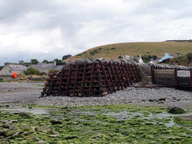 Sea Defences at Aberarth