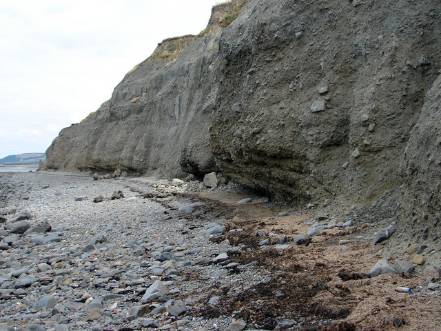Cliff Erosion at Aberarth