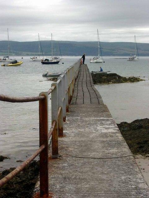 The anchorage, Ardminish Bay