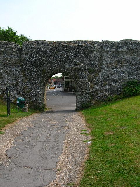 Eastgate, Pevensey Castle