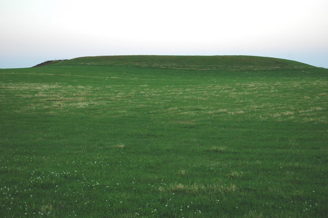 Earthwork near to Halliday Hill