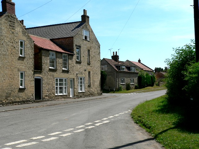 Houses on High Street, Slingsby