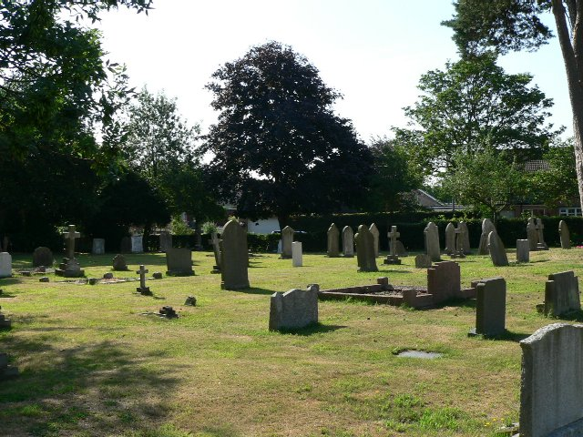 The Graveyard Of Strensall And Towthorpe Parish Church