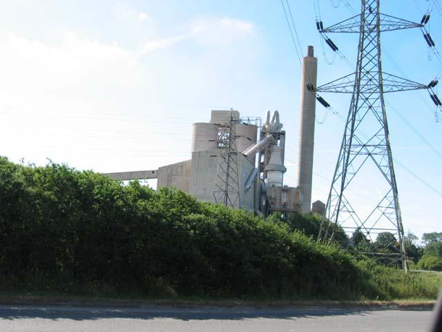 Aberthaw Cement Works