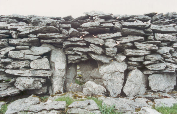 A 'Lunky Hole' in a drystone wall