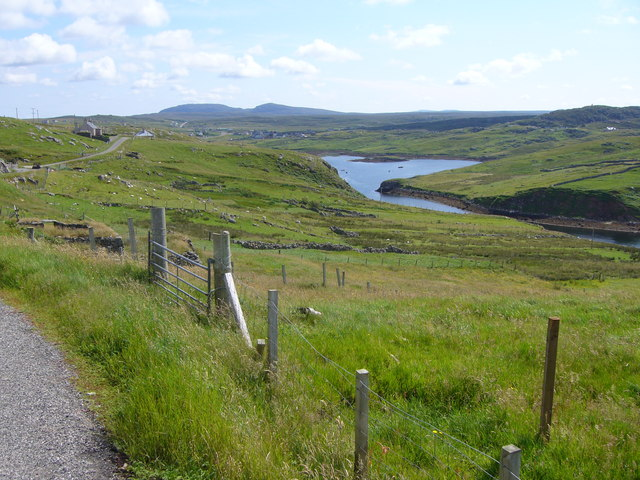 Upper part of Loch Carloway and Borrowston
