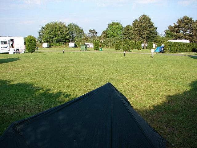 Trelawne Campsite, near Looe