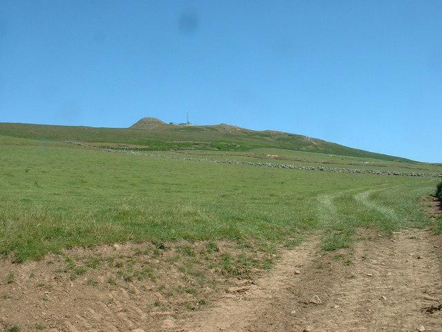 Farmland near Clip y Gylfinhir